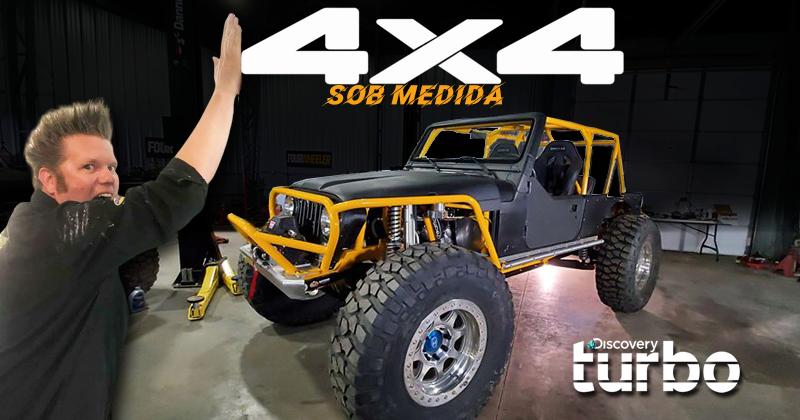 4X4 Sob Medida: série traz mestre da customização Off-Road