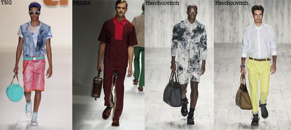 Bolsas e mochilas masculinas   Sensação do Verão 2013/2014