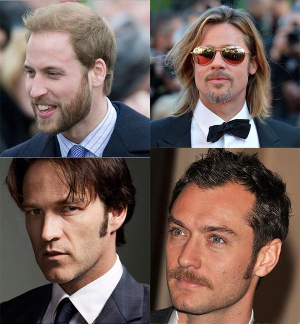 Estilo de barba, cavanhaque, bigode e costeleta