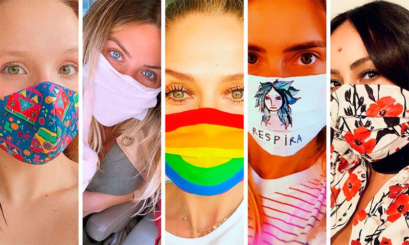 Máscaras dos famosos: confira os estilos
