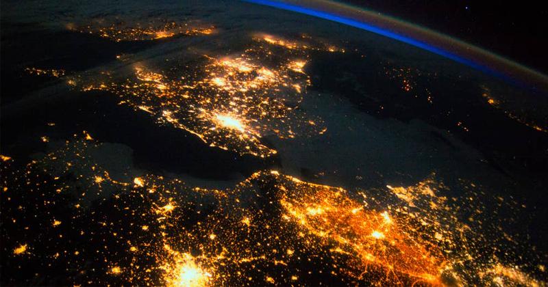 A Terra Vista do Espaço: Nova superprodução da BBC com imagens espetaculares