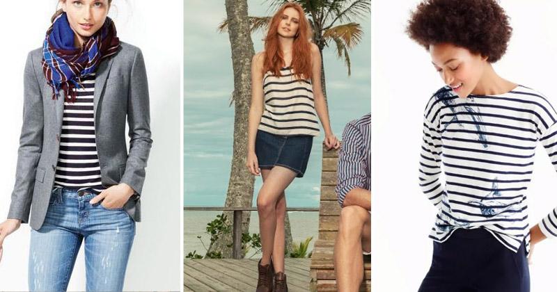 Camiseta listrada feminina | Como revitalizar o seu look