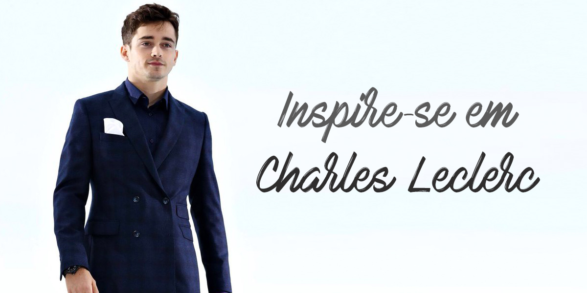 Looks de Charles Leclerc: inspire-se no visual do piloto da Ferrari