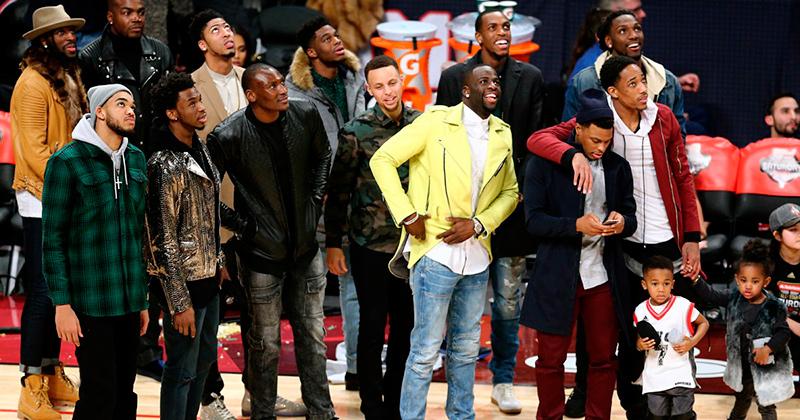 Looks do basquete da NBA
