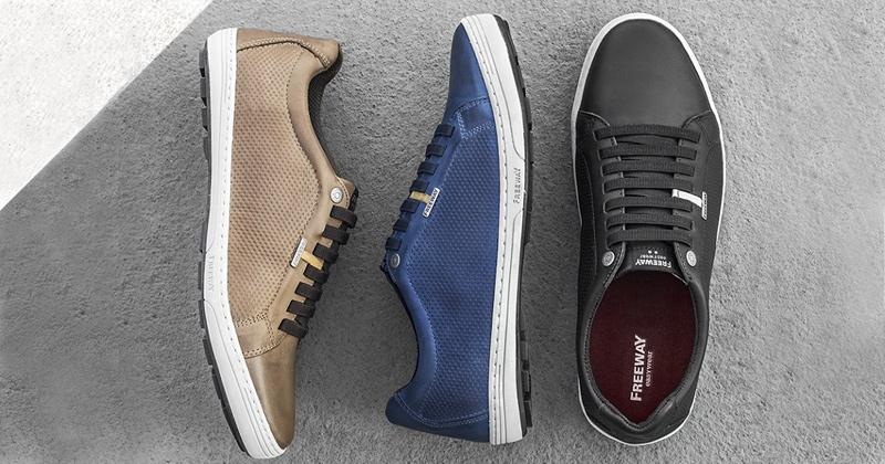 Homens também gostam de sapatos