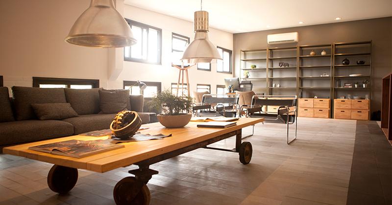 Showroom com conceito sustentável