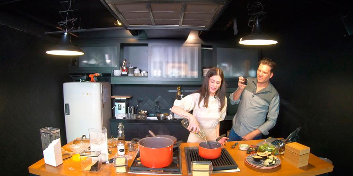 Tem chef em casa: série gastronômica produzida durante o covid-19