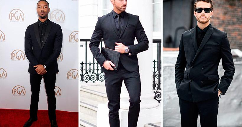 total black masculino ternos